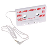 Stereo Plug Universal Car Audio Cassette Adapter For Ipod...