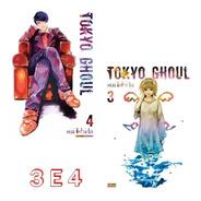 Tokyo Ghoul 3 E 4! Mangá Paninil! Novos E Lacrados!