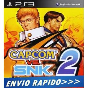 Capcom Vs. Snk 2 Classico Do Ps2 - Psn Ps3 Envio Rapido
