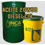 Aceite Diesel 20w50 Incaoil Ci4 Paila 19 Litros