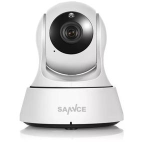 Câmera Sannce Wirelles Hd Entrada Sd E Mic + Infravermelho