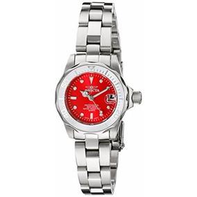 Reloj Invicta Mujer 12518 Pro Diver Red Dial 200m