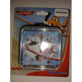 Reloj De Mesa Despertador Aviones Planes Disney