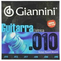 Encordoamento Para Guitarra Elétrica 40088-10 Giannini