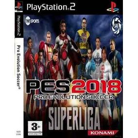 Pes 18 Super Liga Argentina Ps2 Pes 2018 Afa Playstation 2