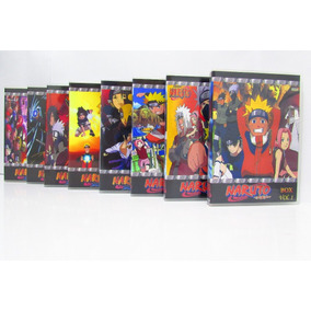 Dvd Naruto Box Todas As Temporadas Completo + Filmes + Ovas