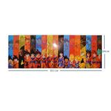 Dragon Ball Poster Largo Goku Fases Super Sayayin