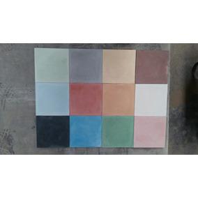 Mosaicos Lisos Calcareos ( Varios Colores ) De 20x20