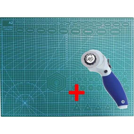Combo Cutter Circular Guillotina + Tabla Base D Corte - A2 -