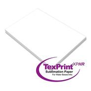 Papel Para Sublimacion Sublimar Texprint Xp 110 Hojas Carta