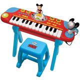 Teclado Con Micrófono Mickey Mouse