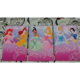 Disney Princesas Cuadro Infantil Tríptico (36cm X 76cm)