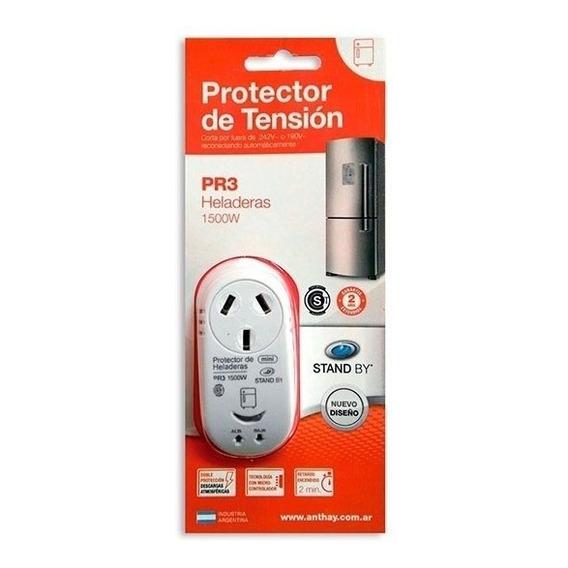 Protector De Tension Enchufable Para Heladeras 1500w