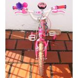 Bicicleta Para Niña Ring 16. Modelo Princesas Disney.
