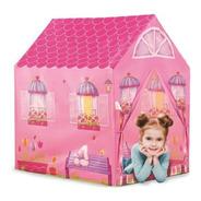 Barraca Infantil Minha Casinha Rosa Casa