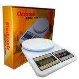 Balança Digital Cozinha Até 10kg Alta Precisão Alimento Diet