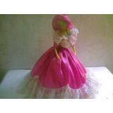 Muñeca De Dama Antañona