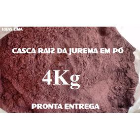 4kg Casca Moída Em Pó Raiz De Jurema Preta Mimosa Hostili Ft