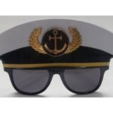 Óculos De Sol Marinheiro Para Festas Acessório Para Carnaval