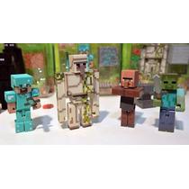 Minecraft Kit 24 Peças Boneco Brinquedo #2 Decoração