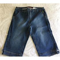 Baby Phat Pantalón Pescador Corto Dama Jeans 16 (46 Nac)