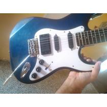 Guitarra Electrica Biscayne 7 Serie Miami Para Regalo Navida