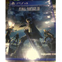 Final Fantasy Xv ( 15 ) Nuevo Y Sellado Ps4 Stock (fortum)