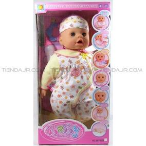 Muñeco Bebe Interactivo Crece,llora,balbusea,rie,habla