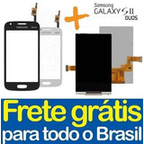 Kit Tela Touch + Display Lcd Galaxy S2 Duos Samsung S7273