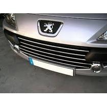 Grade Peugeot 307 2007 A 2012 Com Friso Cromado Original
