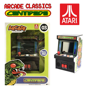 Arcade Classics Centipede Mini Maquina De Juego Con Sonido