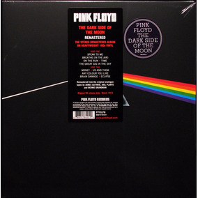 Pink Floyd The Dark Side Of The Moon Vinilo Nuevo 2016 Lp
