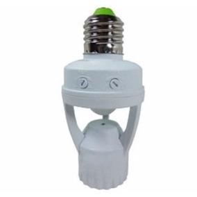 Sensor De Presença C/ Soquete E27 Bocal Fotocélula Automacao