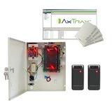 Kit De Control De Acceso De 2 Lectoras Ip, 30000 Usuarios.