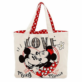 Bolsa Mickey & Minnie Mouse Love Disney Store 2017