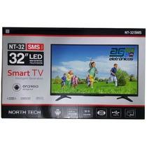 Tv Led Hd 32 Smart Slim Conversor Usb Conversor Wi-fi