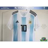 Camiseta Argentina Climachill Messi Rusia 2018 Bajo Pedido