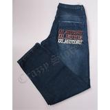 Calça Jeans Xxl 55 Tam Grande Azul Hip Hop Crazzy Store