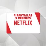 Cuente Nerflix 1 Month 4screen