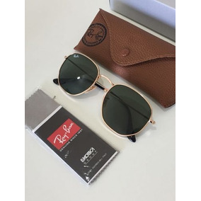 Oculos De Sol Ray Ban Hexagonal Original - Óculos De Sol no Mercado ... 88335925fb