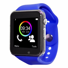 Necnon Reloj Smart Watch Celular Touch Bluetooth C-3t Azul