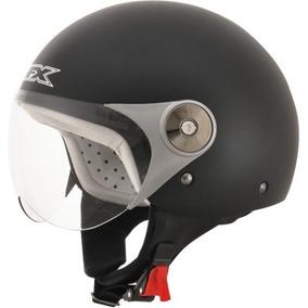 Afx Fx33-y Jóvenes Sólido Casco Negro Scooter Md