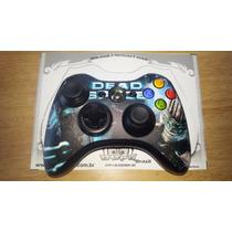 Skin Adesivo Controle Xbox 360 Verniz Jateado Fosco