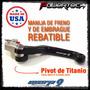 Manija Palanca Freno Embrague Rebatibles Yamaha Yz Yzf Todas