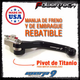 Manija Palanca Freno Embrague Rebatibles Yamaha Yz Yzf Wrf
