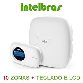 Central Alarme Monitorada Amt 2010 Intelbras 10 Zonas