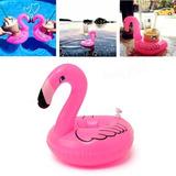 3 Bóias Infláveis - Porta Copo - Flamingo - Flutuador Praia
