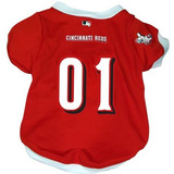 Polera Para Perro Cincinnati Reds Mlb Mesh Pet Jersey L