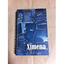 Cuaderno Personalizado, Pasta Dura, Media Carta