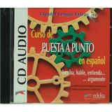 Curso De Puesta A Punto En Español - Audio Cd Edelsa